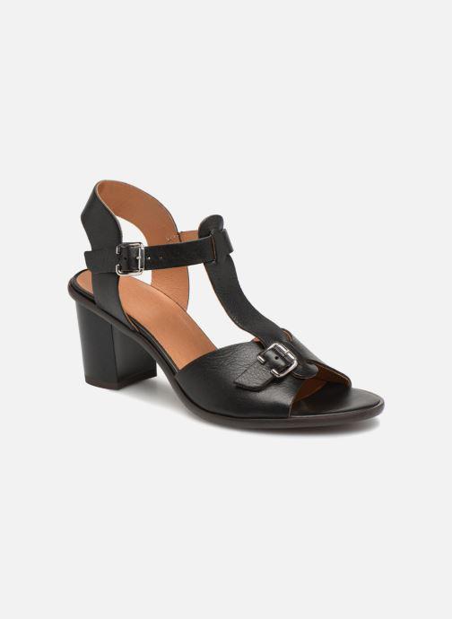 Sandales et nu-pieds Karston Lisiou Noir vue détail/paire