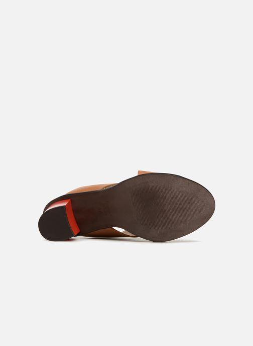 Clogs & Pantoletten Karston Lipstic braun ansicht von oben