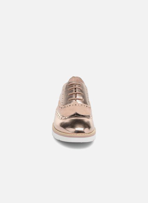 Schnürschuhe Karston Ofala gold/bronze schuhe getragen