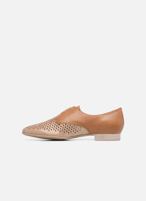 Chaussures à lacets Karston Joie Marron vue face