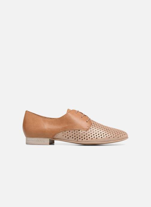 Zapatos con cordones Karston Joie Marrón vistra trasera