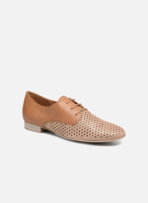 Lace-up shoes Karston Joie Brown detailed view/ Pair view