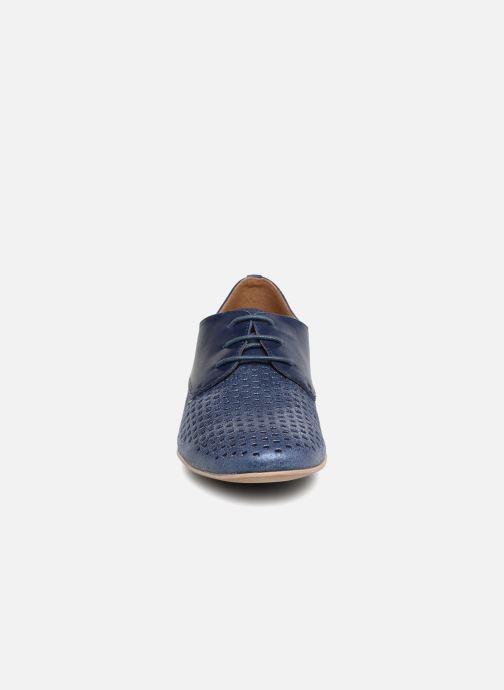 Schnürschuhe Karston Joie blau schuhe getragen
