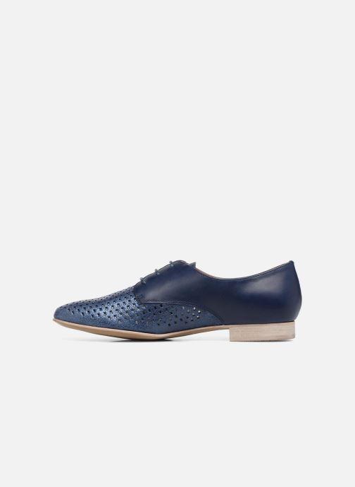 Zapatos con cordones Karston Joie Azul vista de frente