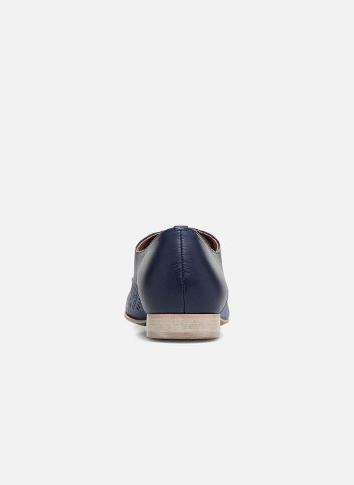 Zapatos con cordones Karston Joie Azul vista lateral derecha