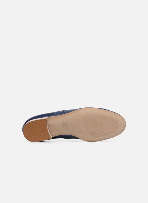 Zapatos con cordones Karston Joie Azul vista de arriba