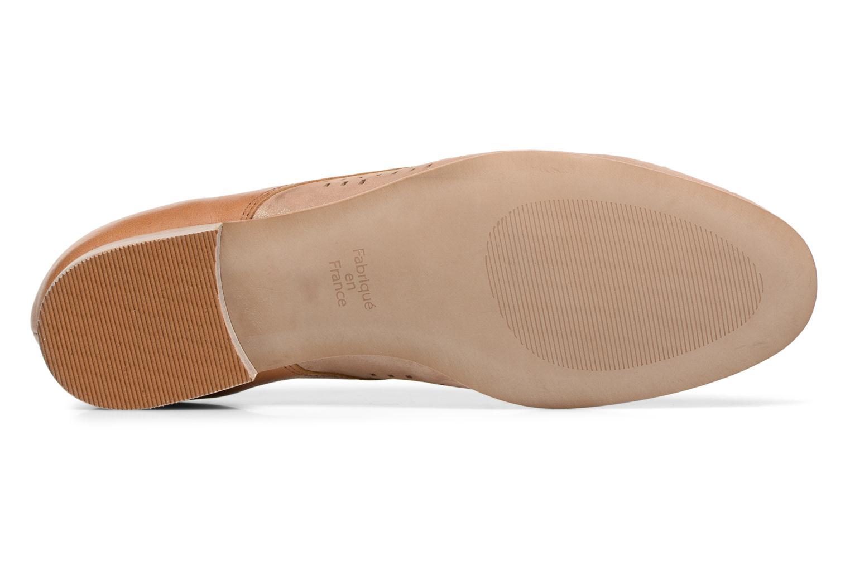 Chaussures à lacets Karston Joie Marron vue haut