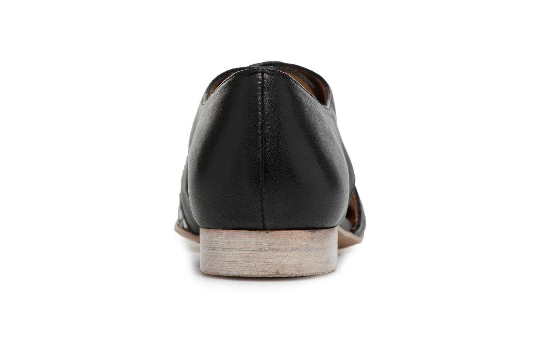 Chaussures à lacets Karston Jocane Noir vue droite