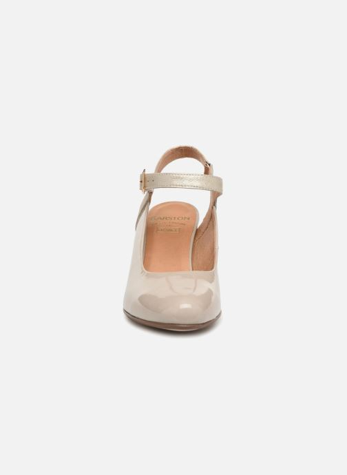 Escarpins Karston Idax Gris vue portées chaussures