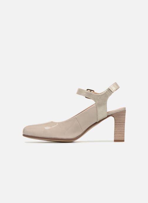 Zapatos de tacón Karston Idax Gris vista de frente