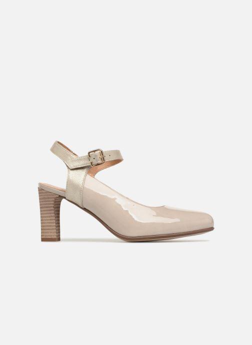 Zapatos de tacón Karston Idax Gris vistra trasera