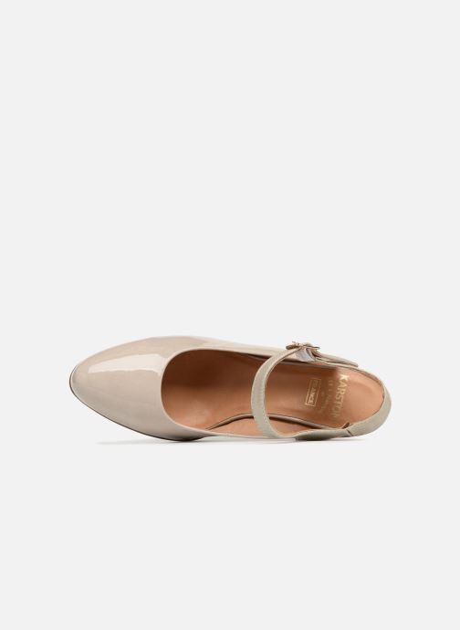 Zapatos de tacón Karston Idax Gris vista lateral izquierda
