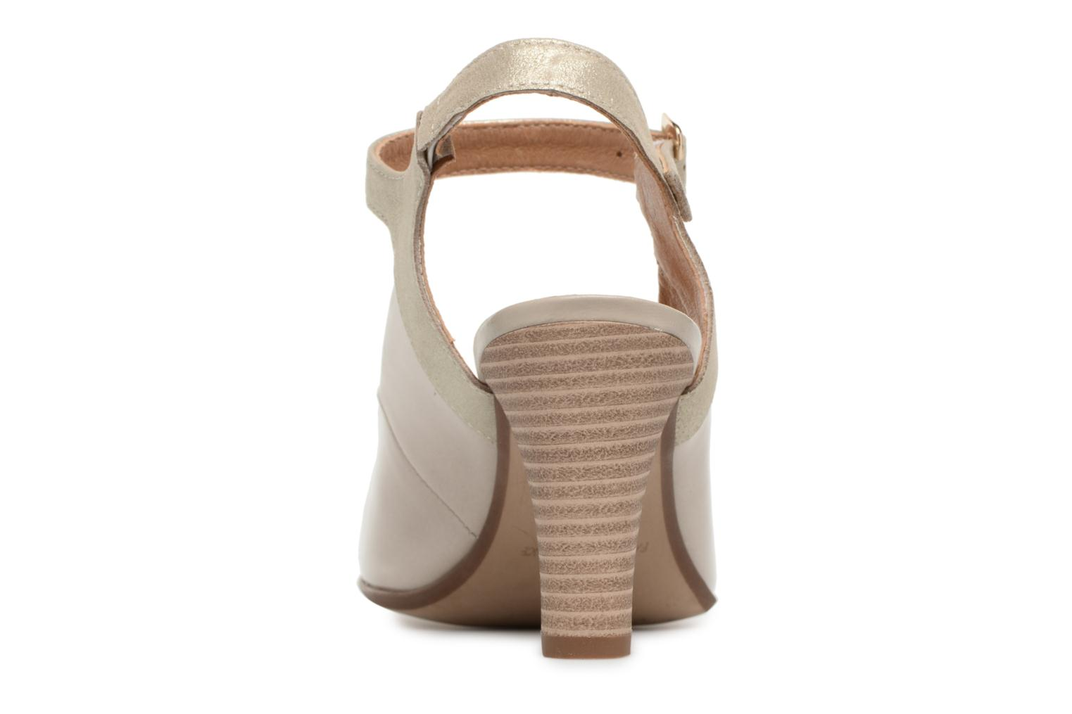 High heels Karston Idax Grey view from the right