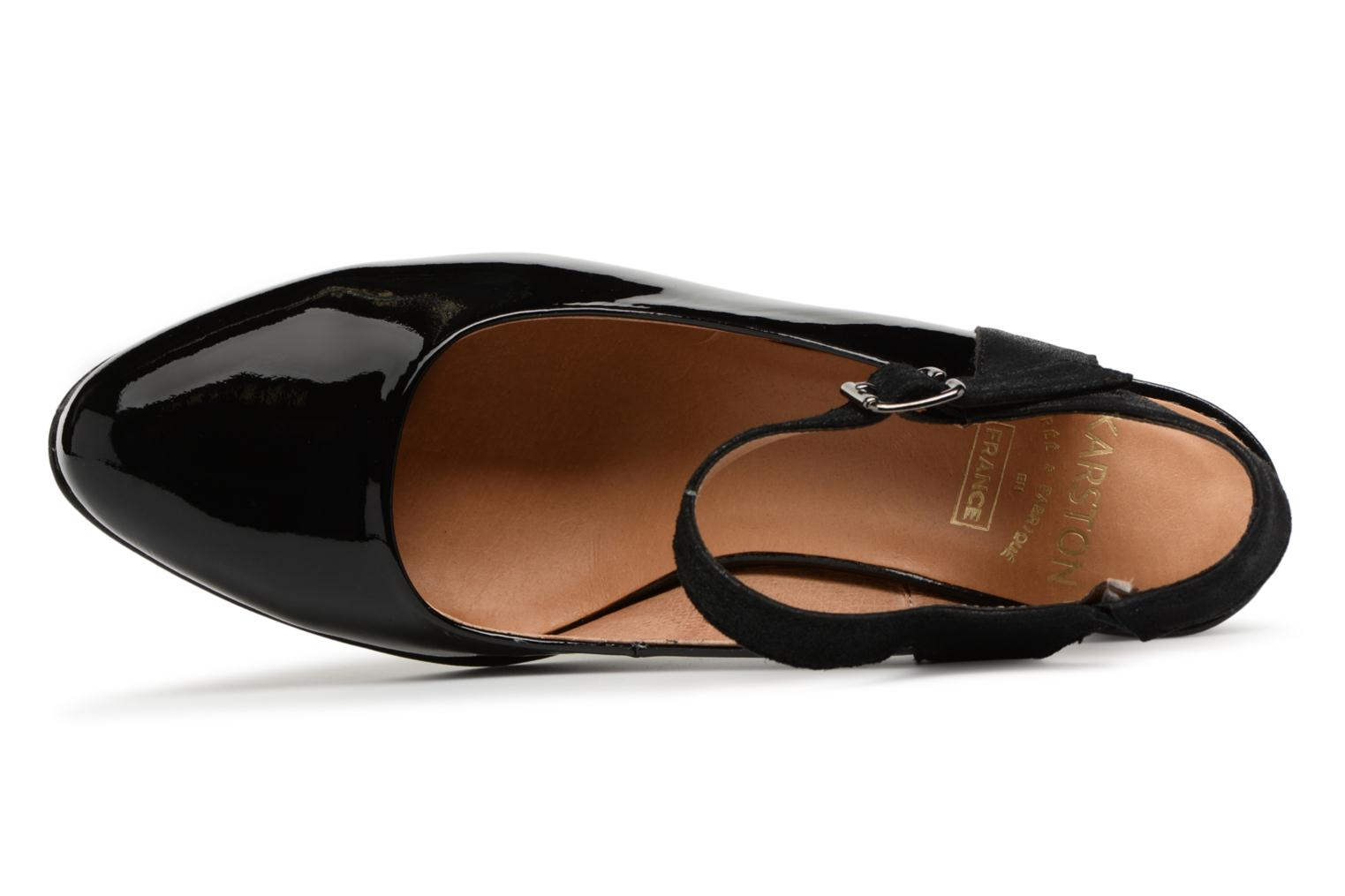 High heels Karston Idax Black view from the left