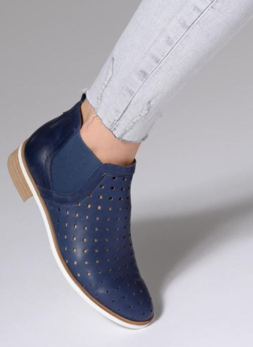 Ankle boots Karston Jijou Brown view from underneath / model view