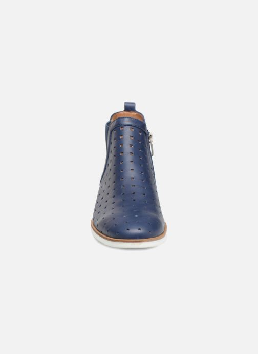 Bottines et boots Karston Jijou Bleu vue portées chaussures