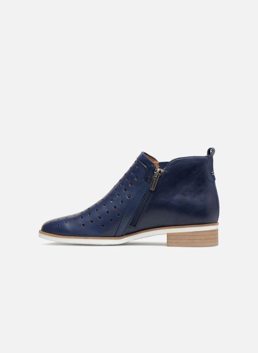 Bottines et boots Karston Jijou Bleu vue face