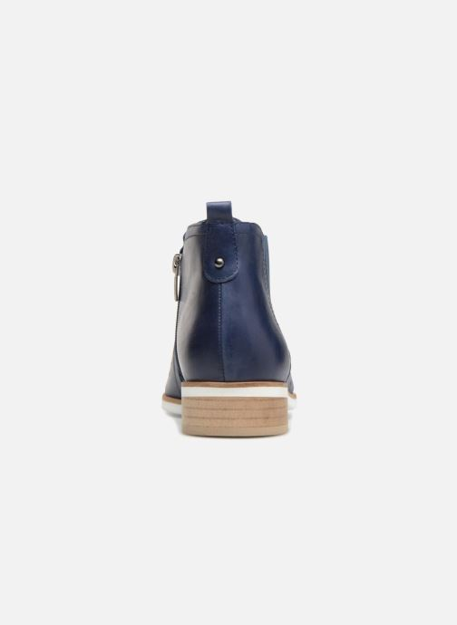 Ankle boots Karston Jijou Blue view from the right
