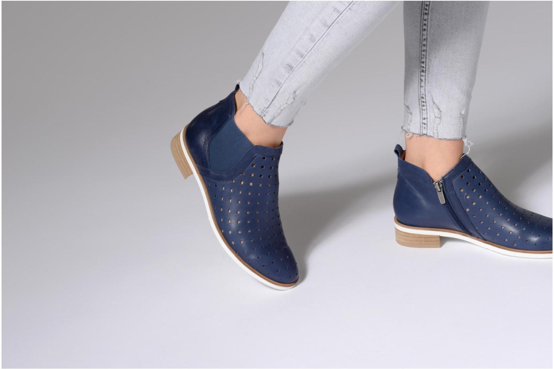 Bottines et boots Karston Jijou Marron vue bas / vue portée sac