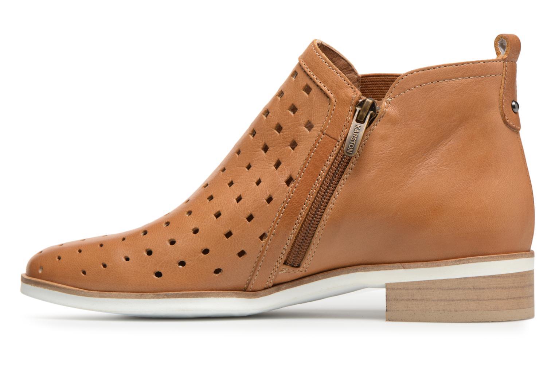 Bottines et boots Karston Jijou Marron vue face