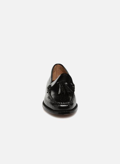 Loafers G.H. Bass WEEJUN WMN Estelle Brogue Black model view
