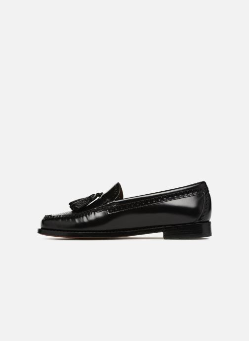 Loafers G.H. Bass WEEJUN WMN Estelle Brogue Black front view