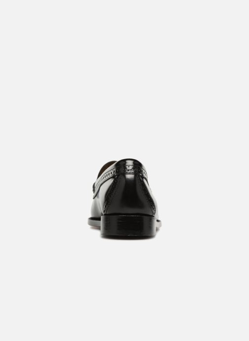 Loafers G.H. Bass WEEJUN WMN Estelle Brogue Black view from the right