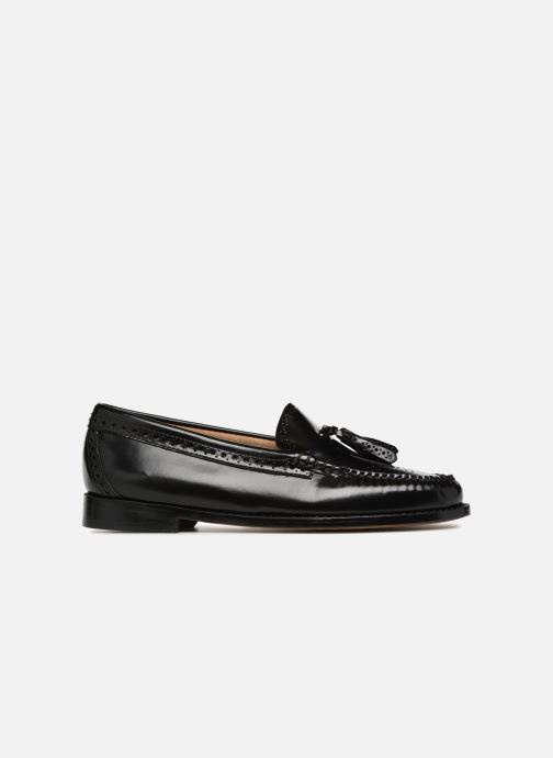 Loafers G.H. Bass WEEJUN WMN Estelle Brogue Black back view