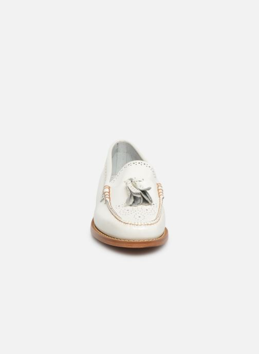 Loafers G.H. Bass WEEJUN WMN Estelle Brogue White model view