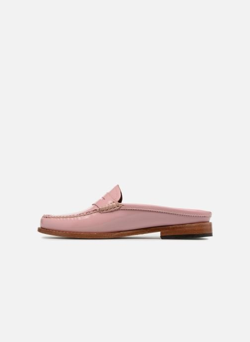 000f8130a2c G.H. Bass WEEJUN WMN Penny Slide Wheel (Pink) - Loafers chez Sarenza ...