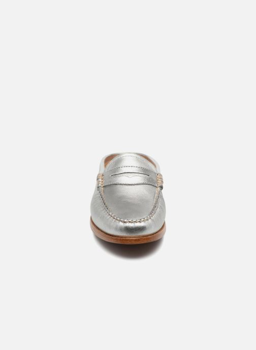 Mocassins G.H. Bass WEEJUN WMN Penny Slide Wheel Argent vue portées chaussures