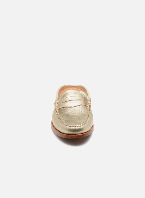 Mocassins G.H. Bass WEEJUN WMN Penny Slide Wheel Or et bronze vue portées chaussures