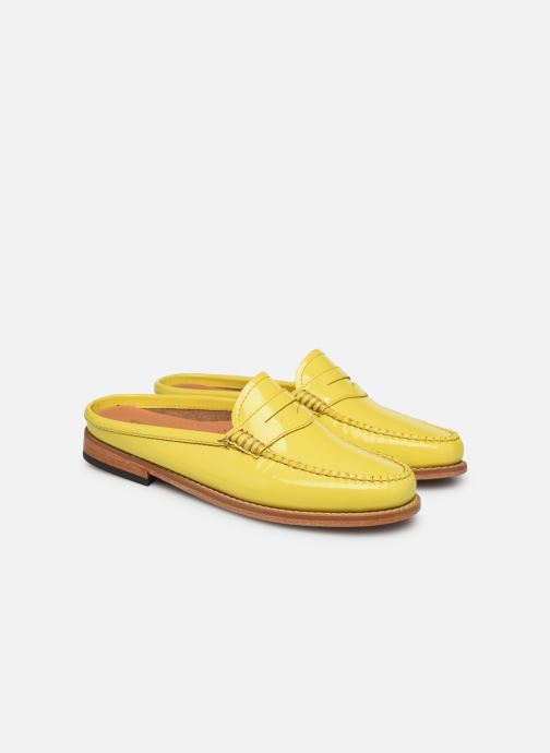 Loafers G.H. Bass WEEJUN WMN Penny Slide Wheel Yellow 3/4 view