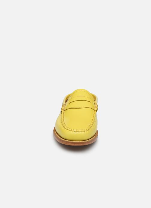 Loafers G.H. Bass WEEJUN WMN Penny Slide Wheel Yellow model view
