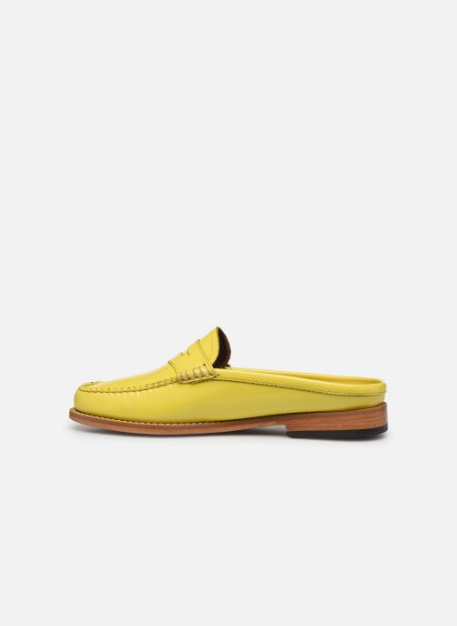 Mocasines G.H. Bass WEEJUN WMN Penny Slide Wheel Amarillo vista de frente
