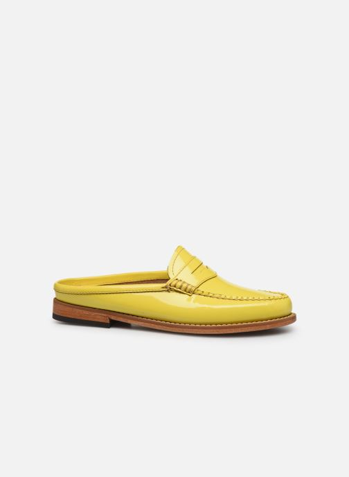 Loafers G.H. Bass WEEJUN WMN Penny Slide Wheel Yellow back view