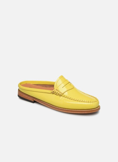 Loafers G.H. Bass WEEJUN WMN Penny Slide Wheel Yellow detailed view/ Pair view