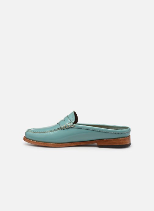 Loafers G.H. Bass WEEJUN WMN Penny Slide Wheel Blue front view