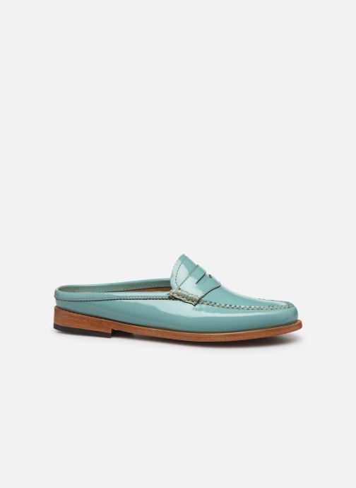 Loafers G.H. Bass WEEJUN WMN Penny Slide Wheel Blue back view