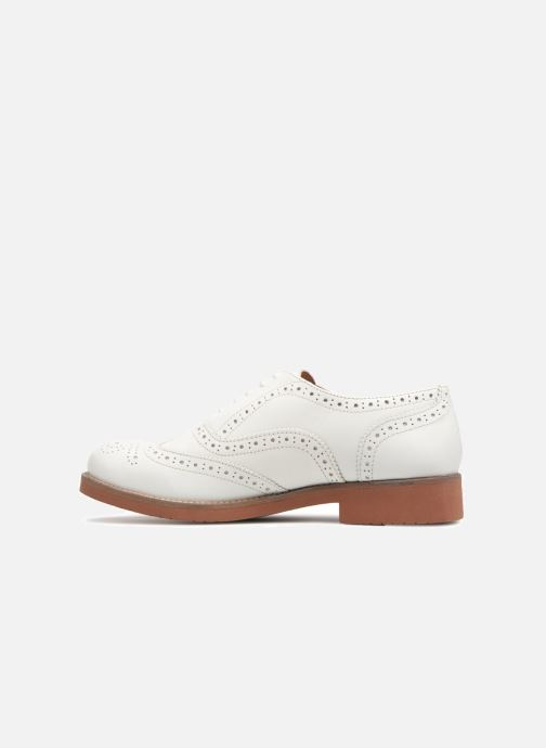 c390adbd19c G.H. Bass ALBANY Oxford Brogue Metal (White) - Lace-up shoes chez ...