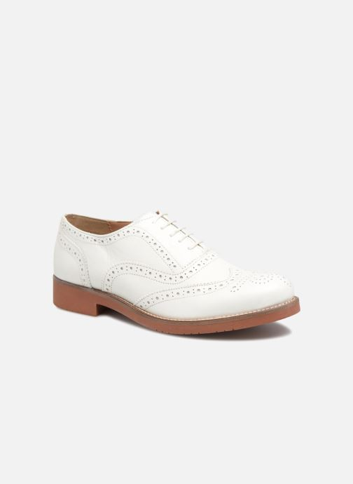 3f973f6f9bc Lace-up shoes G.H. Bass ALBANY Oxford Brogue Metal White detailed view   Pair view