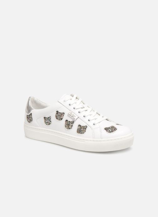 Baskets Karl Lagerfeld KUPSOLE Choupette Inlay Lace Blanc vue détail/paire