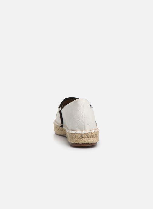 Scarpe di corda Karl Lagerfeld KAMINI Karl Ikonic Slip On Bianco immagine destra