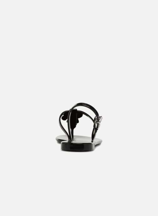 Sandales et nu-pieds Karl Lagerfeld JELLY Karl Ikonic Sling Noir vue droite