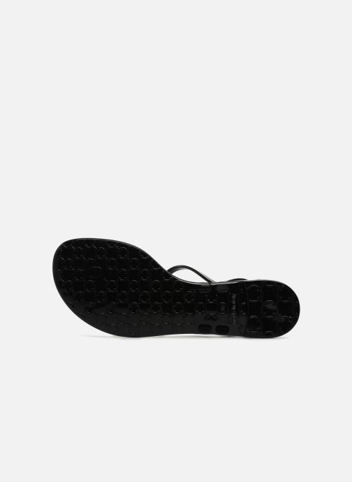 Sandales et nu-pieds KARL LAGERFELD JELLY Karl Ikonic Sling Noir vue haut
