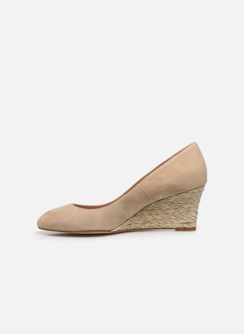 Zapatos de tacón L.K. Bennett Eevi Beige vista de frente