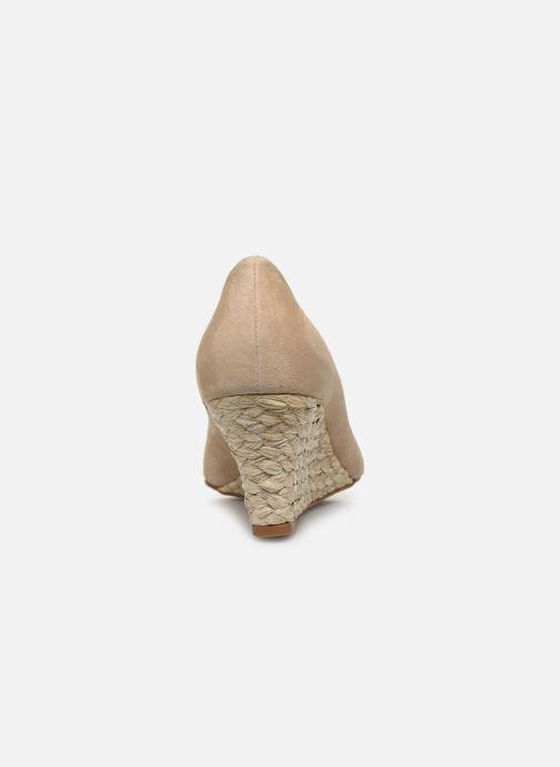 Zapatos de tacón L.K. Bennett Eevi Beige vista lateral derecha