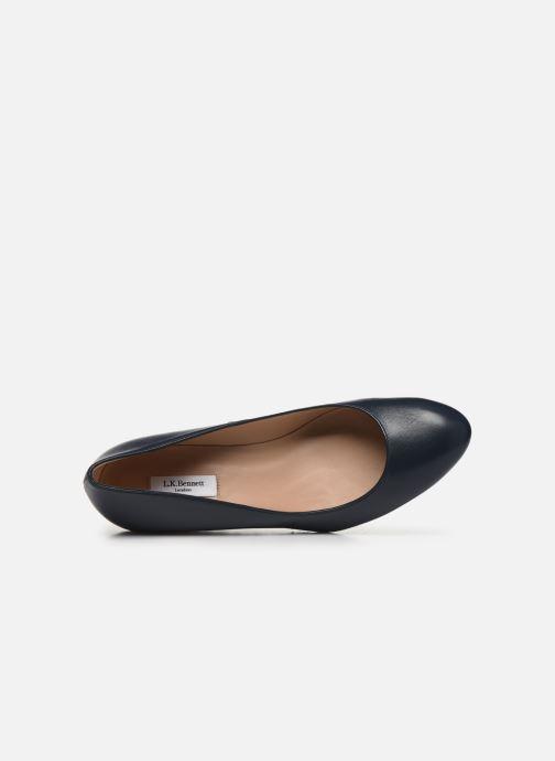 Zapatos de tacón L.K. Bennett Eevi Azul vista lateral izquierda