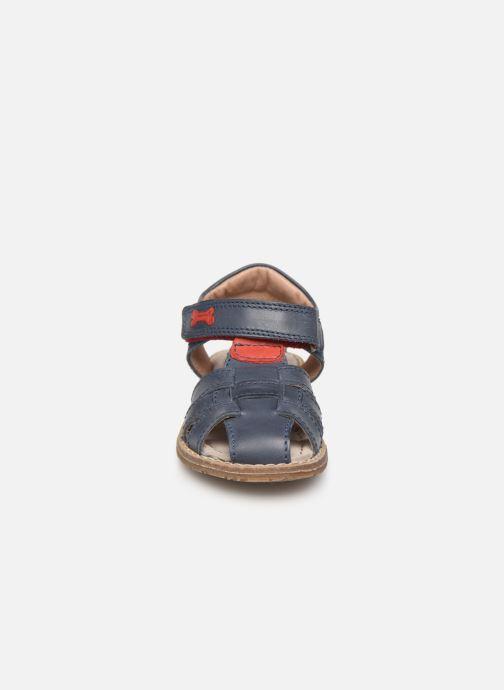 Sandales et nu-pieds Stones and Bones Docu Bleu vue portées chaussures