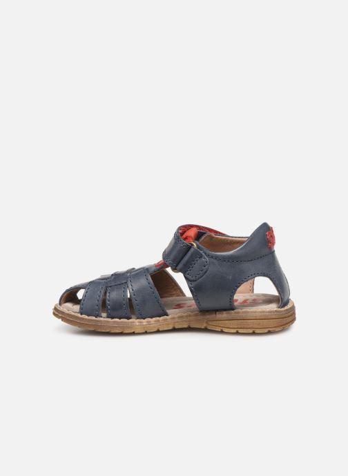 Sandales et nu-pieds Stones and Bones Docu Bleu vue face